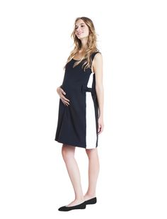 The Bow dress - day&night - during&after pregnancy - bow detail - chic mum - check now! www.nanarisematernity.com