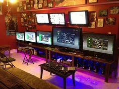 L'incroyable chambre d'un Gamer passionné