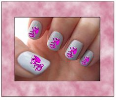 A Great Way To Express Yourself!! Water Slide Decal Art For Your Nails!! * These decals are very easy to apply, and with a couple coats of clear