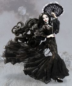 Evangeline Ghastly Gallery ~ Art Photography of the unique Gothic inspired doll