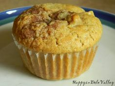 Happy in Dole Valley: Muffin Monday - Delicious Peachy Muffins