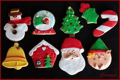 Galletas de Navidad- Christmas cookies - No quieres caldo?... Pues toma 2 tazas