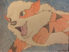 Cross Hatch Arcanine by LamoniWolf on DeviantArt Today Is My Birthday, Deviantart, Pictures, Painting, Photos, It's My Birthday Today, Photo Illustration, Painting Art, Paintings