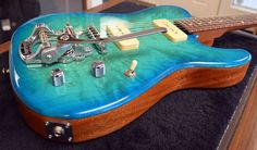 Beautiful Tele with Custom Guitars, Bass, Music Instruments, Beautiful, Flat, Lowes, Double Bass, Musical Instruments