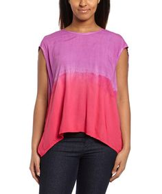 Love this Wild Aster Ombré Ono Tee by Alternative Apparel on #zulily! #zulilyfinds