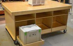 Ken's Mobile Torsion Box Assembly Table