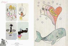 宇野亞喜良の作品集『ファンタジー挿絵の世界』発売 - 絵本挿絵やブックデザインを中心に収録の写真5
