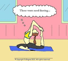 71 best yoga humour images  yoga laughter happy women