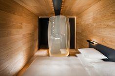 Morphosis Rooms at 7132 Hotel in Vals, Switzerland