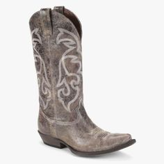 Matisse Tombstone Leather Boots in Brown