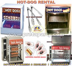 Hot-Dog Machine rentals from Montreal's Prêt-A-Party! Party Rental Supplies, Bar Mitzvah, Party Party, Event Decor, Hot Dogs, Entertaining, Bat Mitzvah, Hilarious
