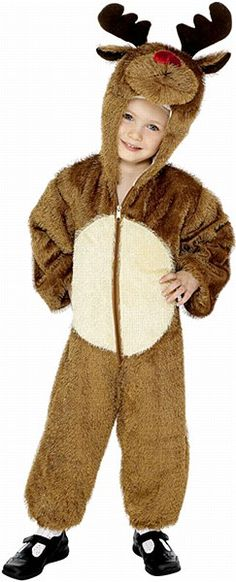 Toddler Reindeer Costume This little cutie wonu0027t be denied participating in Reindeer games.  sc 1 st  Pinterest & Adult Reindeer Costume - One Size Fits Most | Frozen | Pinterest ...