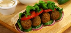 Falafel - Rezepte, Beilagen, Dips