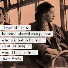 The Pool | Life - Today I'm Channelling Rosa Parks