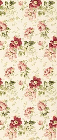 Antique Wallpaper, Paper Wallpaper, Vintage Floral Fabric, Vintage Flowers, Scrapbook Paper, Scrapbooking, Rice Paper Decoupage, Decoupage Printables, Postcard Art