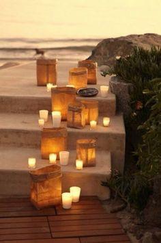 #HLo-Tips: Decoración con velas hace que el espacio se vea y se sienta cálido, se recomienda en lugares con poco aire.