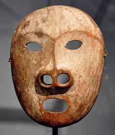 Yupik sea lion mask