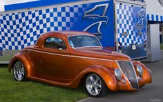 1936 Ford 3-Window Coupe - Cinnamon Metallic..Re-pin brought to you by #HouseofInsurance in #EugeneOregon for #CarInsurance