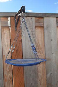 Make a dollar store bird feeder