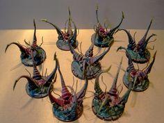 Warhammer 40k Tyranids, Character Art, Character Design, Sci Fi Miniatures, Warhammer Terrain, Diy Table Top, Game Terrain, Wargaming Terrain, Warhammer Fantasy