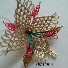 Needle Lace, Lace Making, Knots, Needlework, Beads, Crochet, How To Make, Jewelry, Butterflies