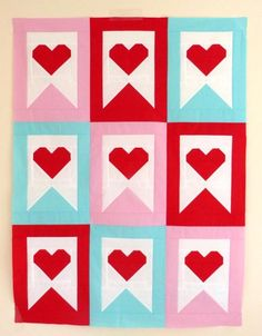 Looking for your next project? You're going to love Sweet Surrender Valentine's Day Quilt by designer sewberrysweet.