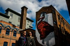Urban Pre wedding Shoot // Northern Quarter Manchester // Manchester Wedding Photographers // About Today Photography // Graffiti // Street Art