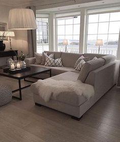 Resultado de imagem para sectional living room ideas