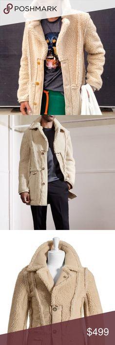 Margiela / H&M Reversed Coat Gorgeous Maison Martin Margiela for H&M Reversed Coat. Men's size S. Never worn, new with tags, suede lining. Maison Martin Margiela Jackets & Coats Pea Coats