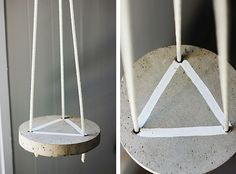 Make It: DIY Hanging Concrete Plant Stand » Curbly | DIY Design Community