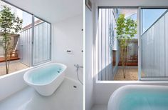 The Complex House designed by Tomohiro Hata Architects.