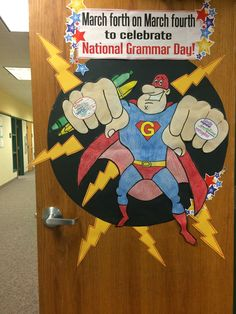 """How does one honor the spirit of National Grammar Day ? The official website puts it this way: """"Language is . National Grammar Day, March, Classroom, Class Room, Mac"""