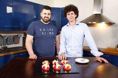 Autour de la fraise : Jonathan Blot et Cosme ont fait une version revisitée du Saint-Honoré, à la fraise ! #GDMR #teva #fraise ©Marie ETCHEGOYEN/TEVA