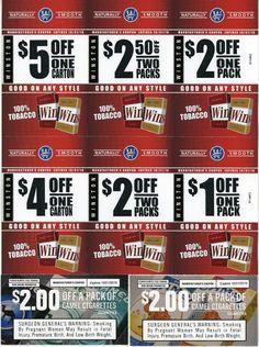 Pall mall cigarette coupons printable 2019