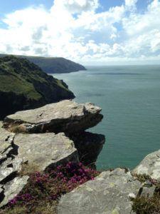 Valley of Rocks near Lynton, coastal view