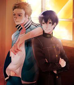 Daisuke Nagase and Kou Ichijo (Strength Arcana), Persona 4