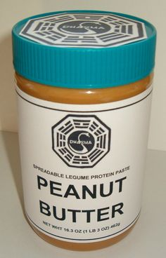A little Charlie Pace Peanut Butter #LOST