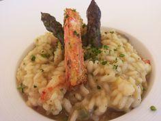 Risottino scampi e asparagi, Loano2Village, Loano, Liguria, #TrentinRiviera