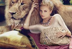 Kirsten Dunst in Bvlgari S/S 2012 ad Campaign | The Empress of Dress