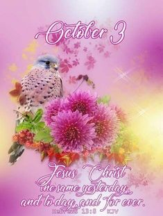 Daily Scripture, Bible Verses Quotes, Scriptures, October Calender, Calendar, Birth Month Meanings, King James Bible Verses, Morning Blessings, Days Of The Year