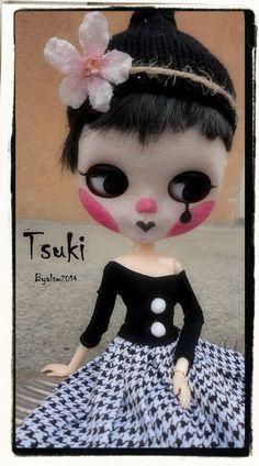 TSUKI Ooak Custom Blythe Art Doll