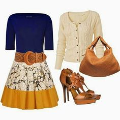 Ladies Fashionz: Yellow and Print Skirt for ladies,outfit for winter wear