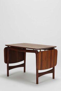 Danish Drop-Leaf Coffee Table in Teak by Hvidt Mølgaard-Nielsen, 1950s 2