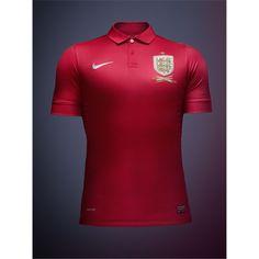 England 13/14 Away Soccer Jersey - TiendaFutbolMundial.com