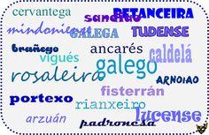 Zarampagalegando: Xentilicios galegos enxebres