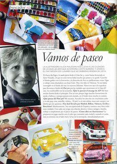 Alicia Malesani in AD Spain - 2013