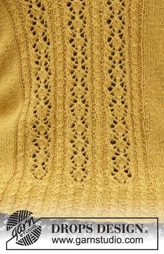 Detail of sweater made from yarn.