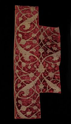 Velvet fragment  Place of origin: Turkey (made)  Date: 1500-1540 (made)  Museum number: 326-1895