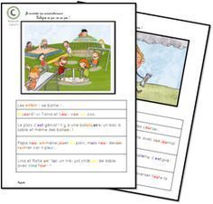 Vérifier sa compréhension Expression Écrite, French Resources, Reading Intervention, French Lessons, Teaching French, Learn French, Reading Resources, Interactive Notebooks, Grade 3