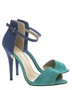 Have2have Sandaletter, Camila Blå och grön